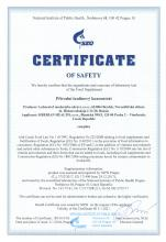 Certificate of safety<br>PIK Complément alimentaire bio CNI (Topinambur-Pulver), 110 g