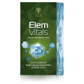 Complément alimentaire bio Elemvitals. Calcium with siberian herbs, 60 gélules